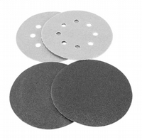 180mm Diameter hook & loop backed sanding discs.